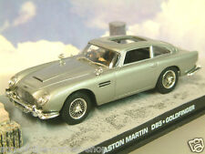 De Metal 1/43 James Bond 007 Aston Martin Db5 en la Plata Goldfinger Factory