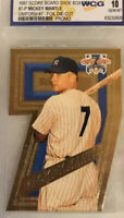 Baseball card mickey mantle 1997 graded