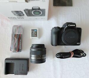 Canon EOS M50 mit 15-45mm Kit Objektiv circa 100 Auslösungen absolut neuwertig