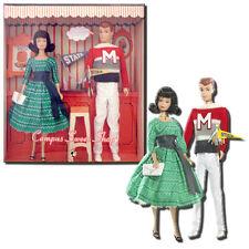 Barbie Vintage Reproductions Barbie & Ken Campus Sweet Shop - Mattel