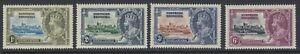 Northern Rhodesia, Scott 18-21 (SG 18-21), MNH
