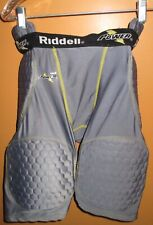 Pair of Riddell Power Padded Football Shorts, Adult Large