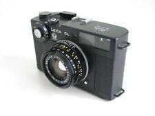 LEICA CL 50 Jahre Leitz Summicron-C 1:2 / 40 analoge Kamera schwarz *HÄNDLER*