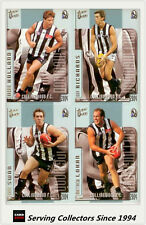 2004 Select AFL Ovation Trading Card Base Card Team Set Collingwood (10)