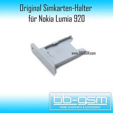 Nokia Lumia 920 ORIGINALE SUPPORTO SIM card SIM Tray cassetto slot in grigio