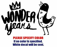 "The Wonder Years Rock Music JDM Vinyl Decal Car Sticker Window bumper Laptop 7"""