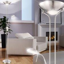 20,5W LED Steh Lampe Wohnzimmer Deckenfluter Lese Licht Büro Beleuchtung Dimmbar