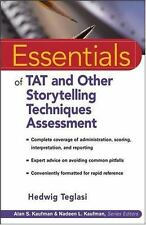 NEW - Essentials of TAT and Other Storytelling Techniques Assessment