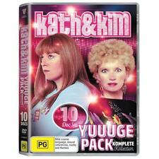 BRAND NEW Kath & Kim's Yuuuge Pack (DVD, 2017, 10-Disc Set) R4 Complete Series