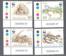 New Zealand -Tuatara-Lizards-Reptiles mnh set 1991 (1590-3)