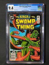 Saga of the Swamp Thing #6 CGC 9.4 (1982) - Newsstand Edition