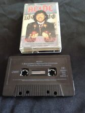 AC/DC MONEY TALKS  CASSETTE TAPE 656500 4 AUSTRALIA ALBERT PRODUCTIONS
