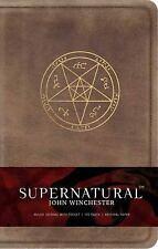 Supernatural: John Winchester Hardcover Ruled Journal (Hardback or Cased Book)