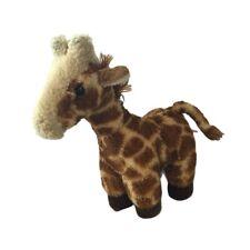 "Aurora World 7"" Mini Flopsie Gigi GIRAFFE Plush Brown Stuffed Animal Toy Tiny"