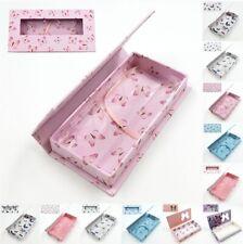 20pcs Empty Eyelash Gift Boxes Package 3D Mink Lashes Rectangle Case + Tray