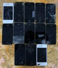 LOT OF 13 Apple iPhone 4s - 8GB - Black & White For Parts ONLY