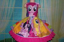 Handmade My Little Pony Twiligth Sparkle/Pinkie Pie  Dress Size 5t