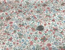 "1 Yd X 45"" MUSEUM Floral CHINTZ By LUCY ATHERTON Cranston COTTON DOLL FABRIC"