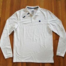 NEW Nike Roger Federer Court RF Long Sleeve Polo Shirt Men's M AJ8048-100 Tennis