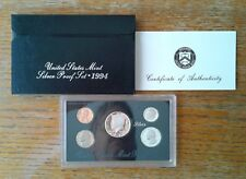1994 US Mint Silver Proof Set in OGP with COA