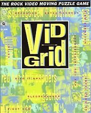 Vid Grid PC Rock Video Moving Puzzle Game CD ROM Windows 1994