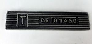 De Tomaso Pantera  Aluminum Valve Cover Plaque Emblem