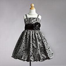 New Flower Girl Sleevless Dress all Ocassions/ Vestido de Nina Toda Ocasion