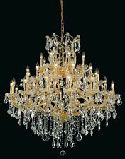 Palace Emperor 37 Light Maria Theresa Crystal Chandelier light Gold fixture