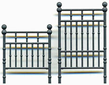 Brass Or Iron Bed Set O On30 Model Railroad Styrene Detail Gl3587