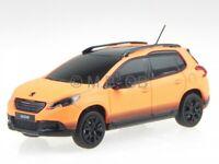 Peugeot 2008 matt orange 2013 diecast model car 479832 Norev 1/43