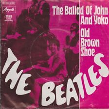 """7"""" Single The Beatles The Ballad Of John And Yoko / Old Brown Shoes"""