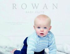 ROWAN NEW Baby Knits knitting pattern book - 11 designs for 0-18 months
