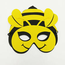 Honey Bee Animal Foam Mask Zoo Safari Farm Jungle Costumes Boy Girl Kid Child