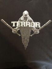 TERROR GHOST BATS SHORT SLEEVE SHIRT SIZE SMALL BLACK