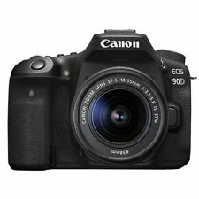 Canon EOS 90D 32.5MP 4K Digital SLR Camera with 18-55mm EF-S IS STM Lens