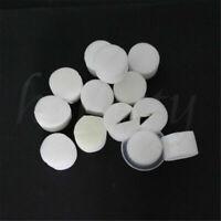 100pcs White Clone Cloning Collar Sponge Insert Hydroponic Root Guard Mesh Pot