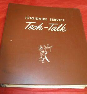 Vntg. Frigidaire Tech Talk Manual for 1938 through 1947 Electric Ranges - RARE!