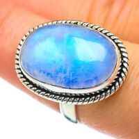 Rainbow Moonstone 925 Sterling Silver Ring Size 8 Ana Co Jewelry R47329F