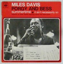 Pochette Tabac 45 tours Miles Davis Porgy and Bess