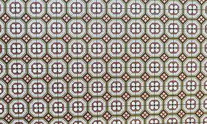 Dollhouse Miniature  Encaustic Tile / Wallpaper