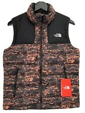 Women's The North Face Combal Puffer Jacket Size Small Blue 550 Down Fill