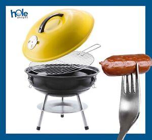 Barbecue a Carbonella Legna Portatile Acciaio Inox Griglia per Esterno Carbone