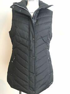 NEW Eddie Bauer Women's Sunvalley Down Vest Black Size L