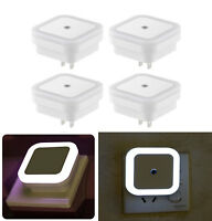 4-10PACK LED Night Light with Auto Dusk to Dawn Sensor Plug In Wall Square Light