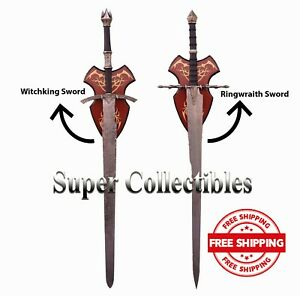 Witchking Sword Witch king + Ringwraith LOTR Ring Wraith Comes With Wall Plaque