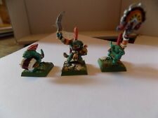 WARHAMMER (GAMES WORKSHOP) - LIZARDMEN STAFF (3) (SERAPHON / SAURUS / LIZARD) !