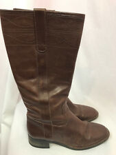 J. Crew Brown Leather Riding Boots, Womens Size 7M