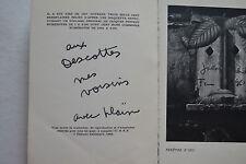 """JACQUES PREVERT """" FATRAS """" 1966 - Envoi de Jacques Prévert ."""