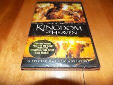 KINGDOM OF HEAVEN 2 DISC WIDESCREEN Orlando Bloom Liam Neeson DVD SEALED NEW