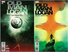 2 x Old Man Logan Comics #16,18 VHTF Wolverine vs. Brood Wastelands Alpha Flight